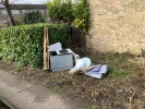 Fly tipping opposite 40 Outfield